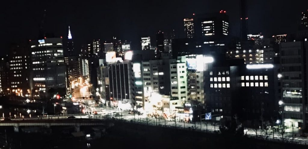 市ヶ谷マック 夜景