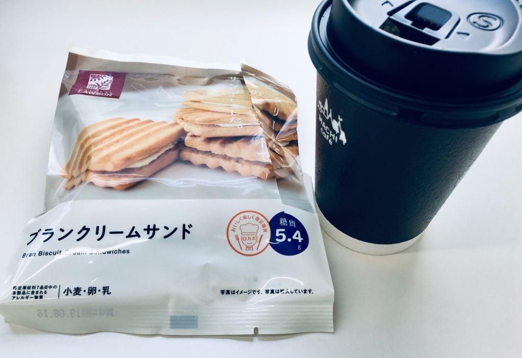 ローソン お菓子とコーヒー