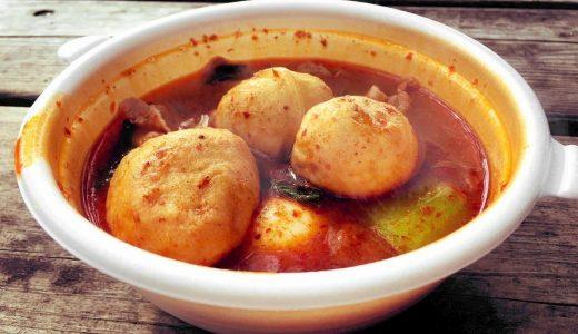 【七宝麻辣湯】『スープ春雨人気トッピング』いま流行りの麺類はマーラータンだ!