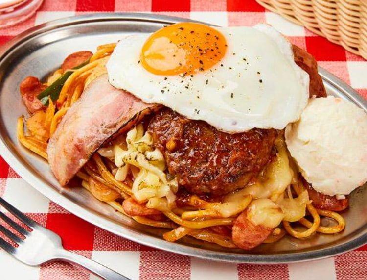 スパゲティのパンチョ 全部のせパスタの写真