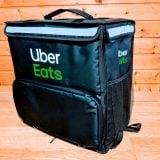 ウーバーイーツ バッグ 新黒 新型 Uber Eatsバッグ