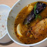 【Suage】『ラベンダーポークの炙り煮カレー』北海道の旨味が染み込んだスープカレーを味わえる